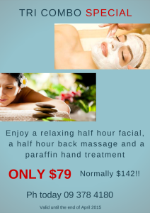 $79.00 special at Acajou
