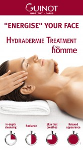 Man having Hydradermie Treatment